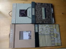Fabric Sample Books, Wallpaper Sample Books, Blind Sample Books
