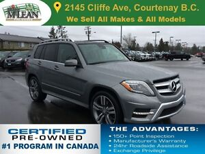 2013 Mercedes-Benz GLK-Class 350 4Matic Leather Seats Sunroof