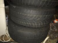 Bmw E61 Winter tyres all set