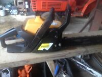 McCulloch MAC 335 Chainsaw, in working order but could use a service