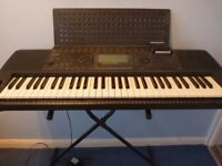 Yamaha PSR-520 Electric Keyboard with stand