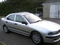 MITUBISHI CARISMA 1-6 MIRAGE 16v 5-DOOR 2002. ONLY 68,000 MILES FROM NEW. 12 MONTHS MOT ON PURCHASE.