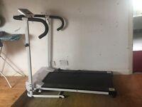 Brand new white treadmill