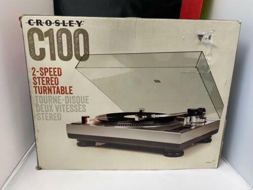 Crosley C100 2-Speed Stereo Turntable