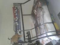 metal triple sleeper bed/bunk