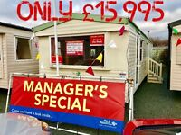 Static Caravan For Sale 12Mth Park 2017 Site Fees Included SeaViews Lancaster NorthWesth PetFriendly