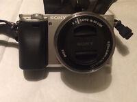 Sony a6000 digital camera plus accessories