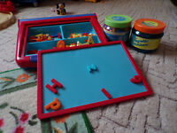 ELC Magnet Table and Number and Letter magnets