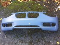 1 series bmw front bumper only what is in the pic £150 bargain