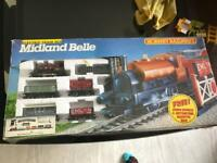 Hornby midland belle train set