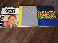 Piano/guitar books