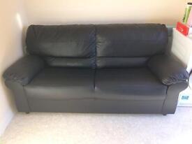 Faux leather sofa,3 seat