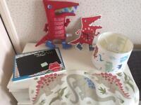 Boys dinosaur - bedroom items