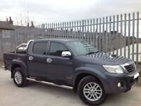 2012 TOYOTA HILUX D/C 3.0 D4-D INVINCIBLE MANUAL 4X4 GREY ++ MANY EXTRAS!!! ++