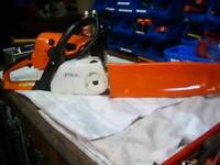 """Stihl ms 230c chainsaw 2007 model in exc con,fitted new Stihl 16"""" bar & chain"""