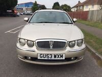 Rover 75 Tourer 2.0 CDTi Club SE 5dr £1,495 p/x poss