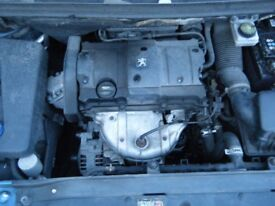 PEUGEOT 307 1.6 GEARBOX Breaking for parts