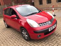 2006 NISSAN NOTE 1.6 SE MPV PETROL MANUAL FAMILY CAR 5 SEAT DRIVES LIKE NEW MOT N MICRA ALMERA CIVIC