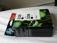 HP 338 (CB331EE) Original Black Ink Cartridges x2
