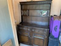 Welsh Dresser - Walnut - Beautiful Design
