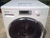 8KG PANASONIC WASHING MACHINE , EXCELLENT CONDITION, BIG LED DISPLAY, 4 MONTHS WARRANTY