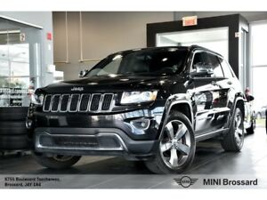2015 Jeep Grand Cherokee LIMITED + CAMÉRA + CUIR  + GPS + 20PO