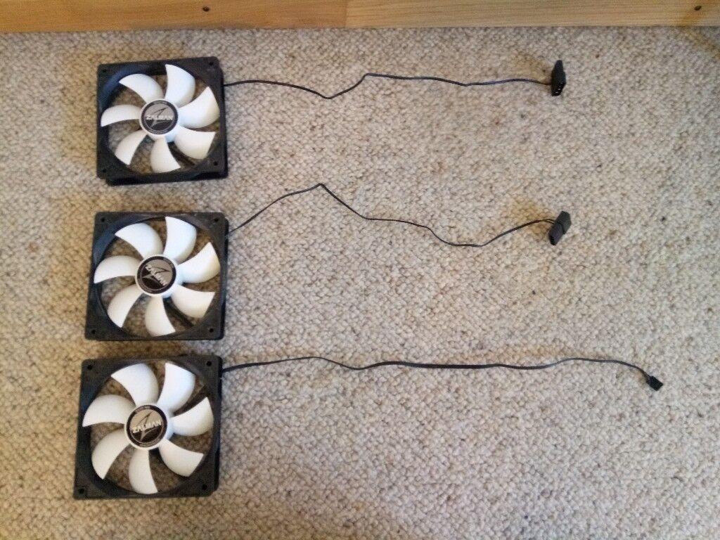 3x Zalman 120mm (12cm) Case Fans