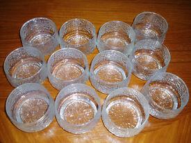 Ravenhead Siesta Retro Glass Dishes