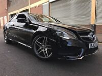 Mercedes-Benz E Class 2013 2.1 E250 CDI AMG Sport 7G-Tronic Plus 2 door COUPE, PAN ROOF, NEW SHAPE