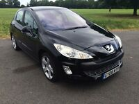PEUGEOT 308 HDI GT 2L With Panoramic Roof. Long MOT, Full Service History, absolute bargain.