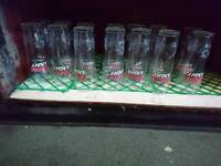 Pub beer glass lot Coors/John Smith/Carling