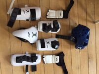 Complete tae kwon do child protective set