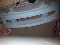 honda dc5 ings front and rear bumper