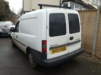 VAUXHALL COMBO 1.7d SPARES OR REPAIRS !