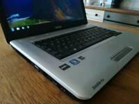 Toshiba L450D laptop * Wide-screen * Cheap Laptop