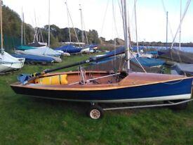 Merlin Rocket Sailing Dinghy