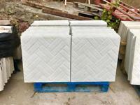 ⭐️ excellent quality NEW 600x600x35mm concrete Paving slabs ⭐️
