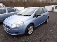 2006 FIAT PUNTO ACTIVE 1.2 BLUE 3 DOOR ONLY 53,000 MILES ONLY SERVICE HISTORY MOT TILL 1/04/17