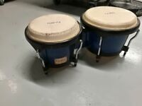 Tycoon Bongos + Mount for stand (Blue)