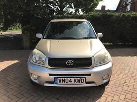 Toyota RAV4 - with 10 month MOT, 3 Owners £1,650