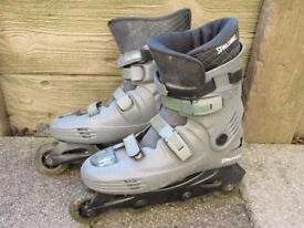 Pre loved Mens Spalding Inline Skate boots size 9