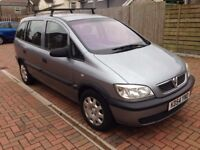 Vauxhall Zafira Life MPV 7 seats. Over £600 spent this month on MOT, service and repairs