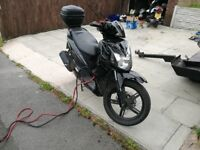 2016 SYM Symphony SR 125cc cosmetic damage Starts and Drives fine Low Miles