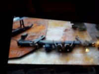 2 tow bars 1 for vauxhall vivaro £70 other one ford transit £50