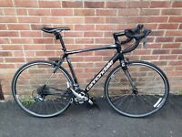 Road Bike Cannondale Synapse Claris - men's 56cm frame. Excellent condition & recently serviced.