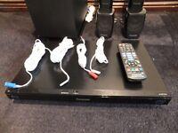 Panasonic SA-BTT370 multi region DVD / BLU RAY home cinema surround sound system
