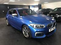 BMW 140i M SPORTS AUTO 5 DOOR FULL RED LEATHER SAT NAV