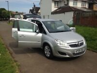 Vauxhall Zafira 1.9 CDTi Design, SAT NAV, REAR CAMERA, FRONT & BACK PARKING SENSOR