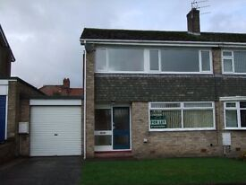 Lovely spacious 3 bedroom house with garage, gardens and off street parking on a quiet estate