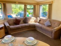 Static caravan for sale at Tattershall Lakes near Skegness Lincolnshire